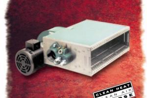Sistema de aquecimento de ar industrial