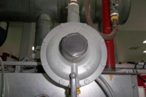 Válvula reguladora de pressão de gás