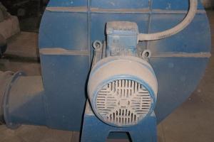 Ventilador de ar de combustão
