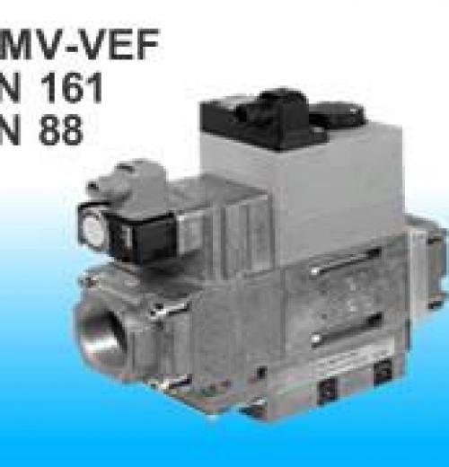 Válvula Eletromagnética com regulagem pneumática